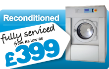 Reconditioned Commercial Laundry Equipment