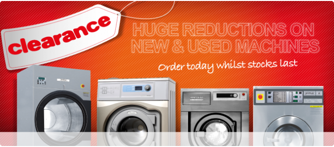 Commercial & Industrial Washing Machines and Dryers