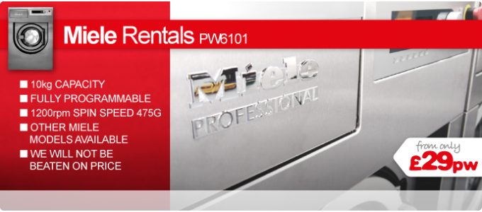 Miele Commercial Laundry Rentals