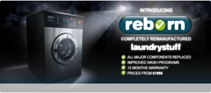 Introducing Reborn - Re-manufactured Laundry Machines from LaundryStuff